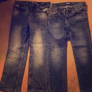 Other - Boys jeans size 6 lot of 2
